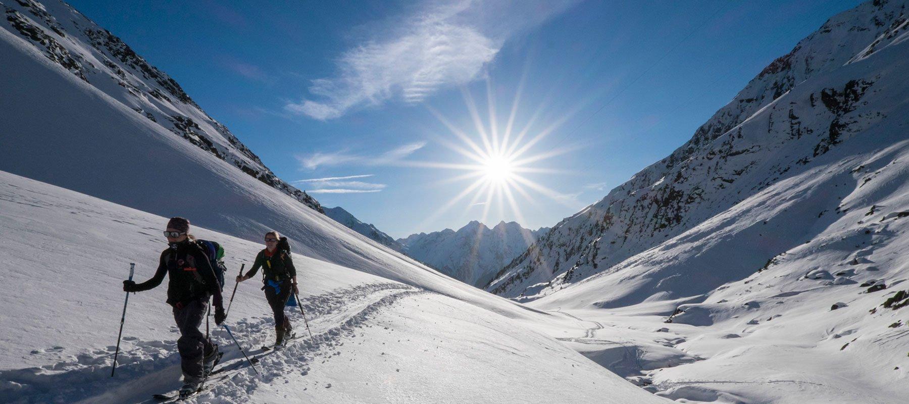 Skitour im Winnebach