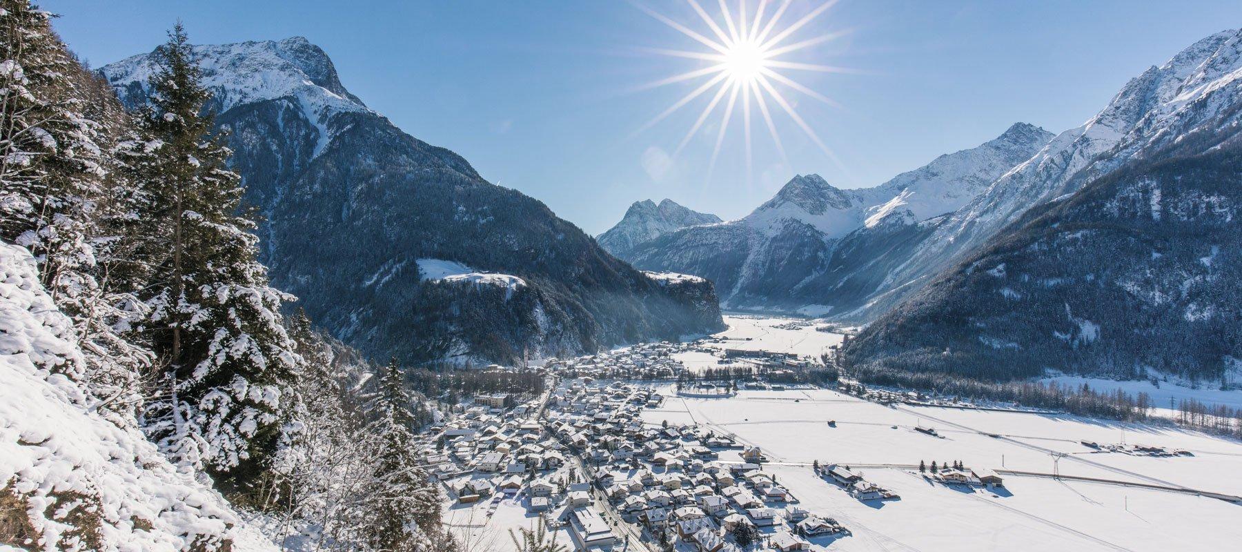Längenfeld im Winter