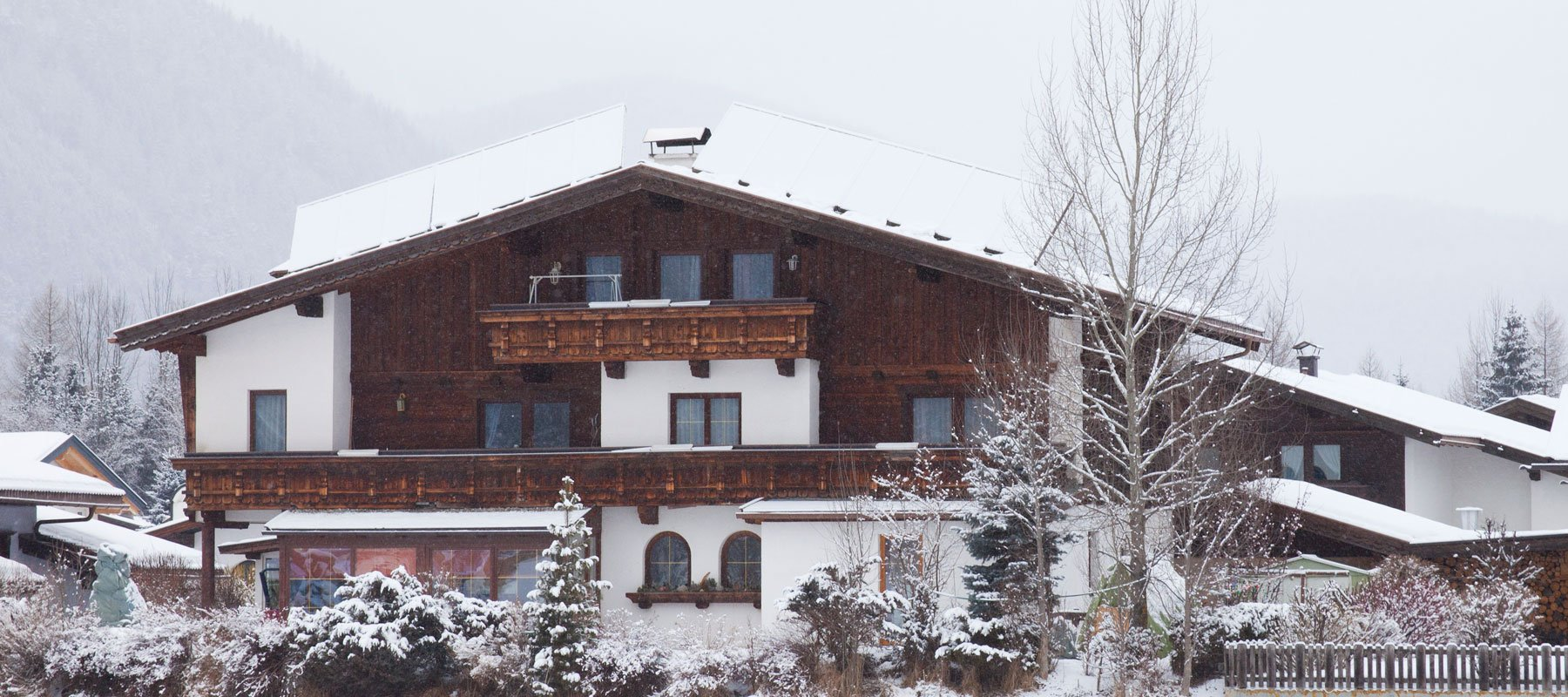 Ferienhaus Alpenroyal im Winter