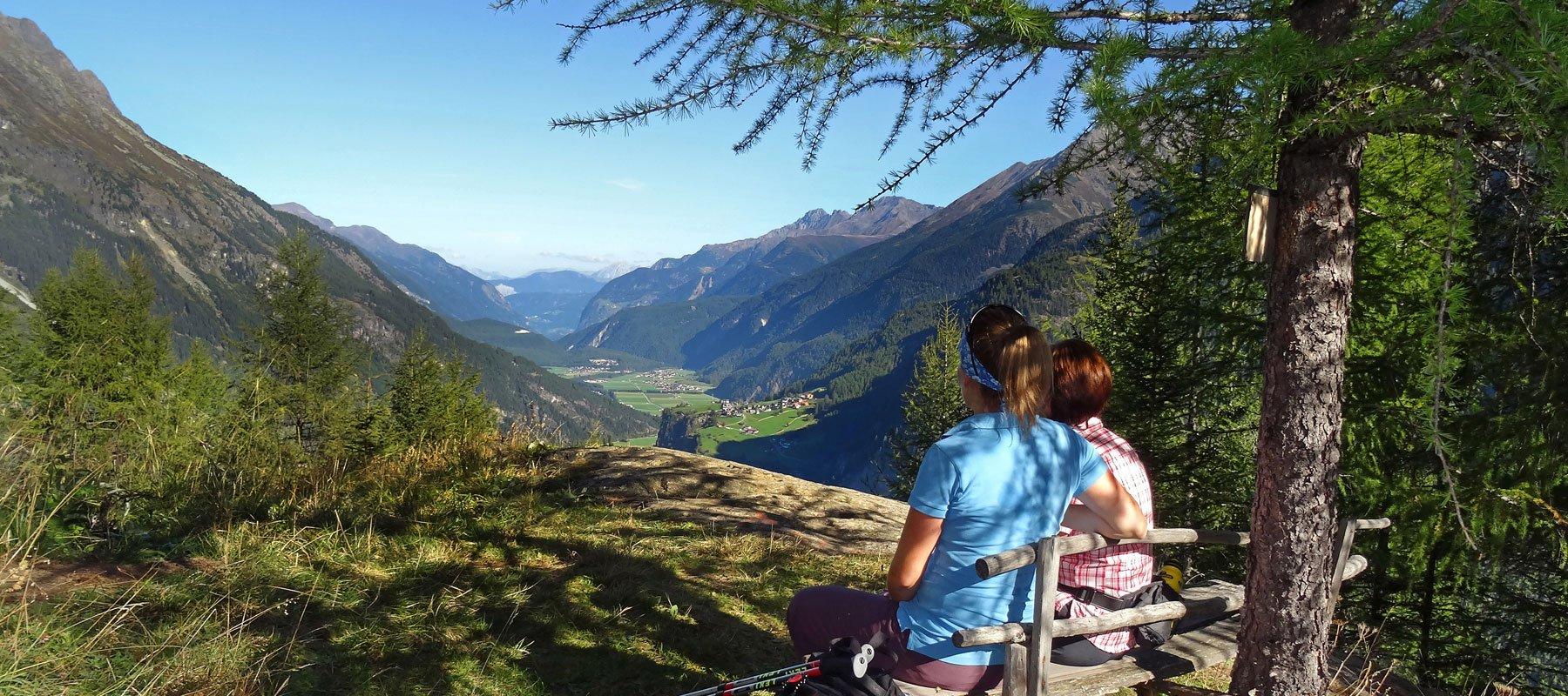 Sommerurlaub in Längenfeld